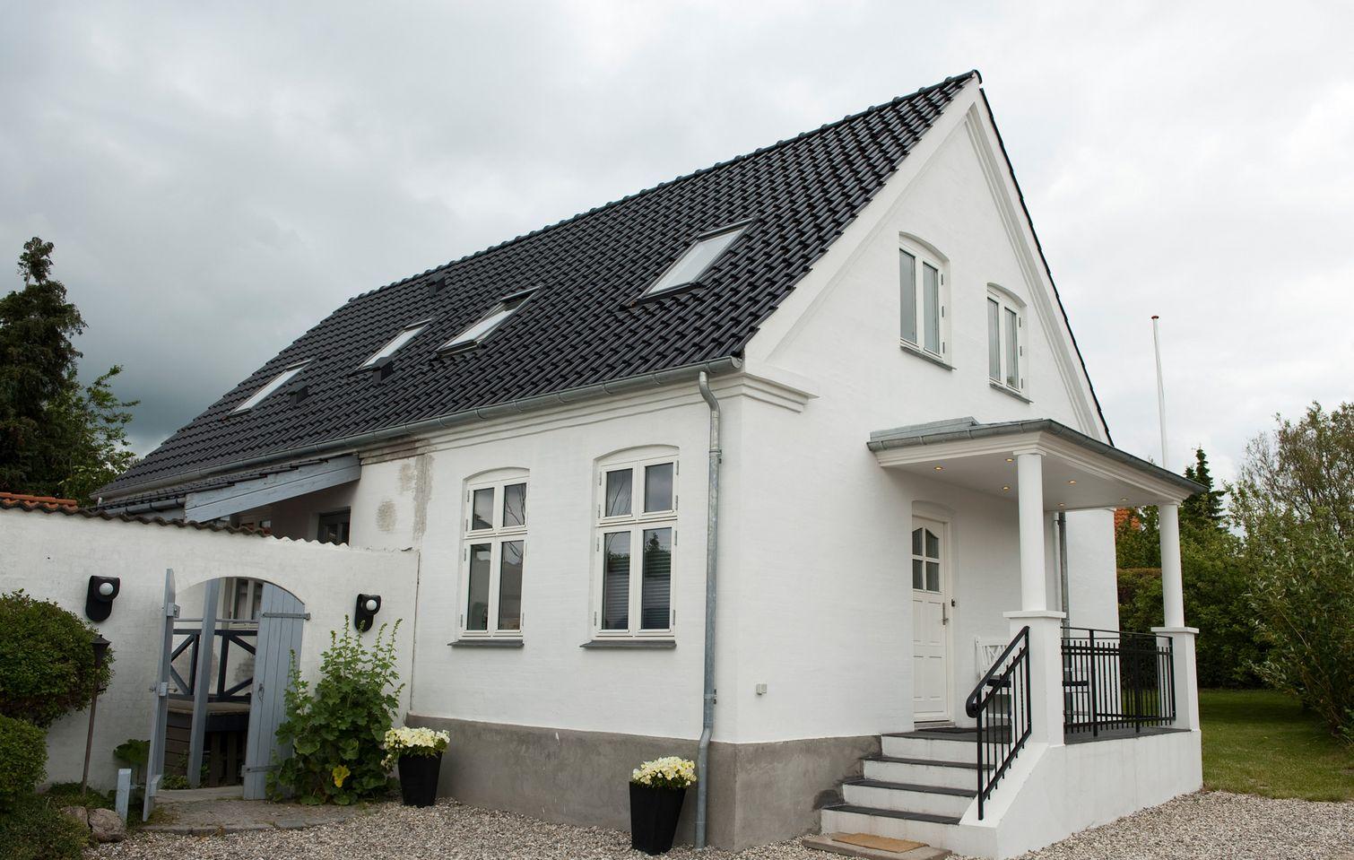 Picture of: Sadan Fik Dorthe Og Peter Et Fantastisk Indgangsparti Til Deres Hus