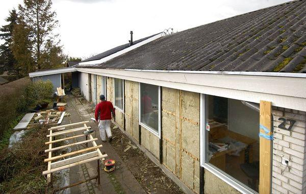 Sådan isolerer du husets ydervægge udefra