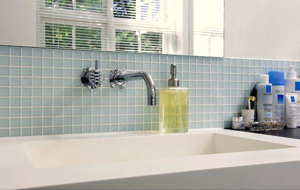 hvor højt skal en håndvask sidde