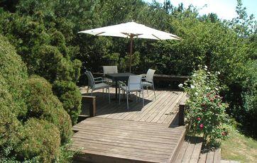 har en primær terrasse i tilknytning til huset, kan en