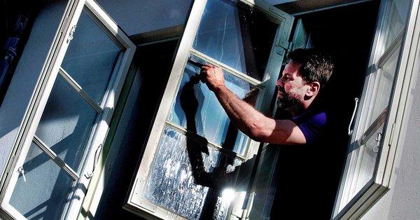 væske til vinduesvasker