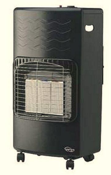 Supplerende opvarmning med gasovn