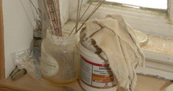 dårlig lugt efter maling