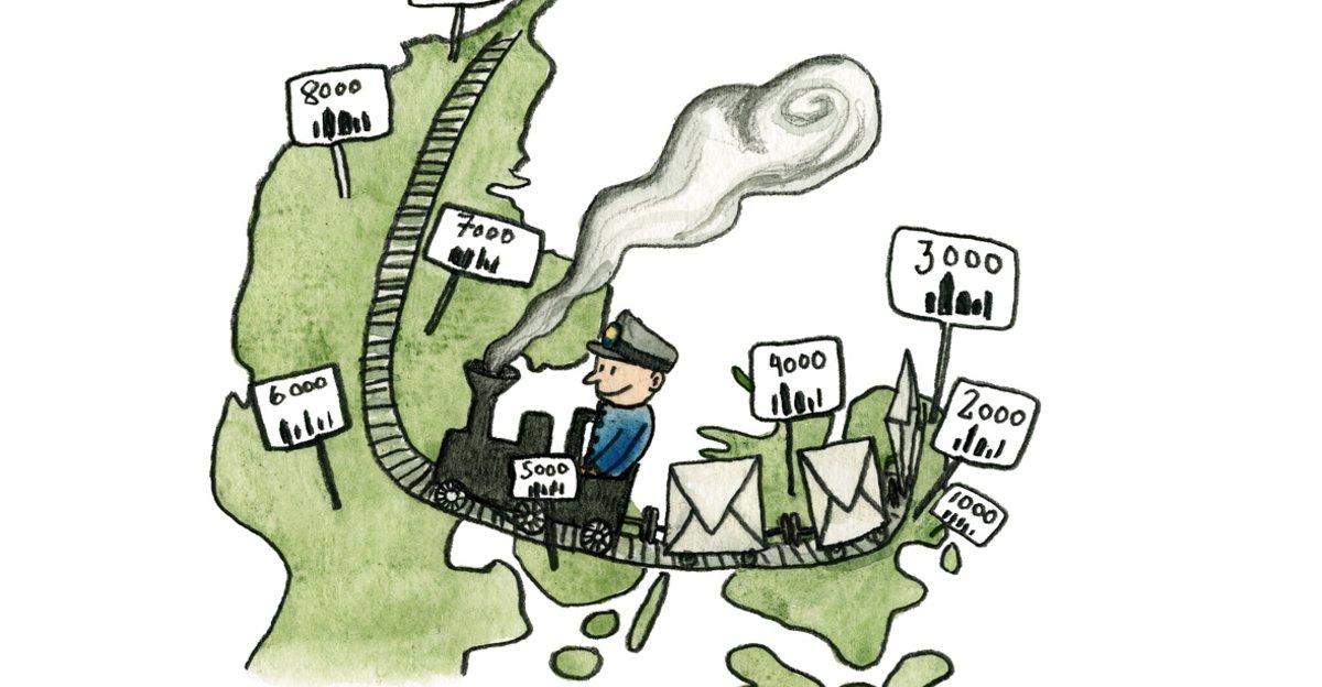 Her Er Postnumrene I Danmark
