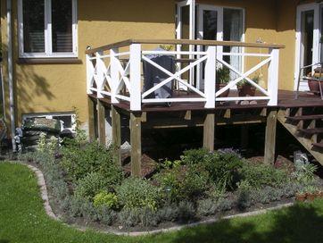 Terrasse opbygning