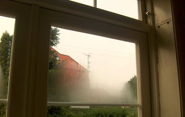 Udvendig kondens på vinduer