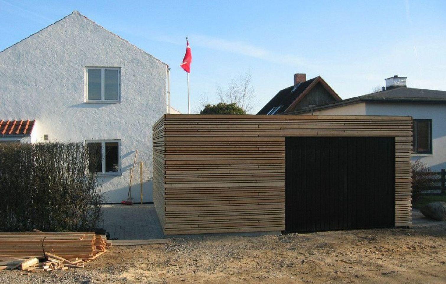 bygning af garage