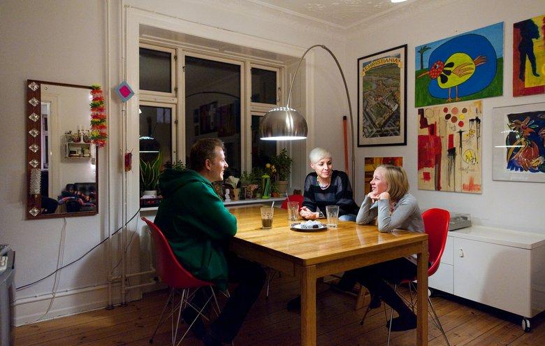 Familie på 4 på 65 kvadratmeter