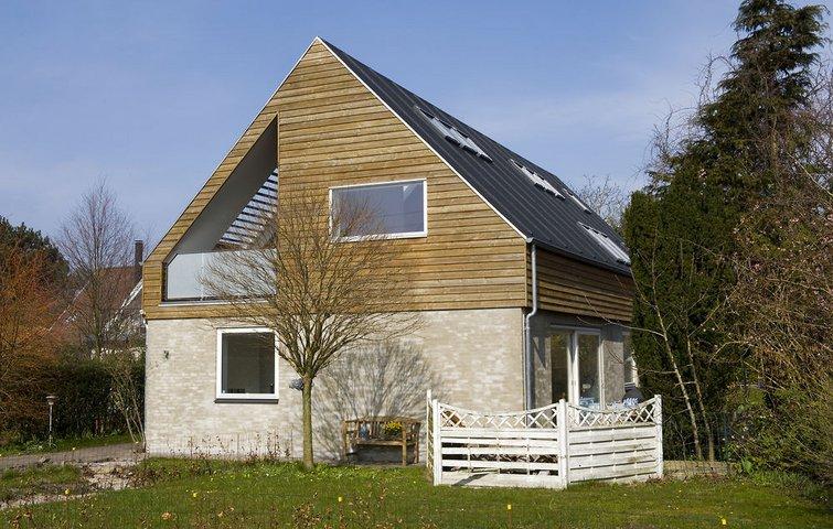 Arkitektoniske muligheder når huset skal have nyt tag og 1.sal
