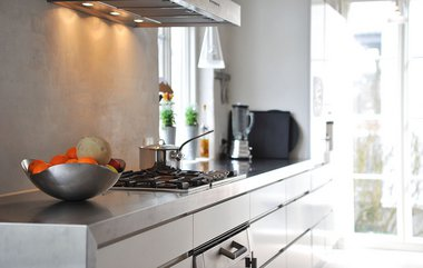 Inspiration til små køkkener