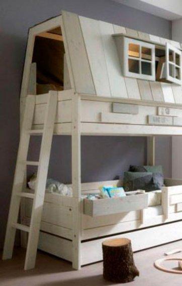 Spar plads på børneværelset: 20 senge med flere funktioner
