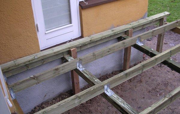 Sådan bygger du din egen træterrasse