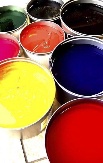 Valg af farver indendørs