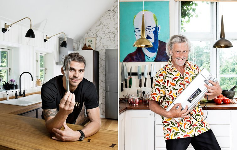 Kokkene rode & schack: sådan indretter du dit køkken