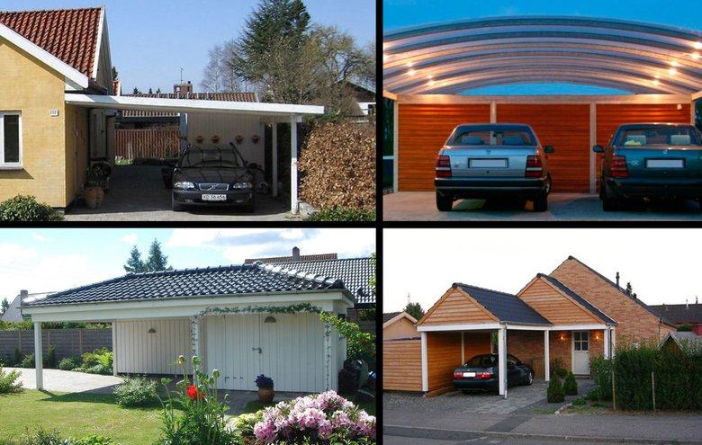 Carporte og garager - sådan må du bygge