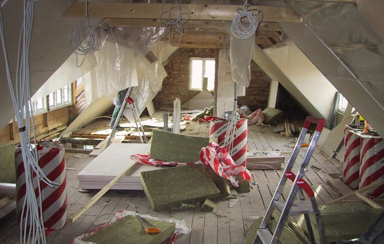 Ny 1. sal og inddragelse af loft