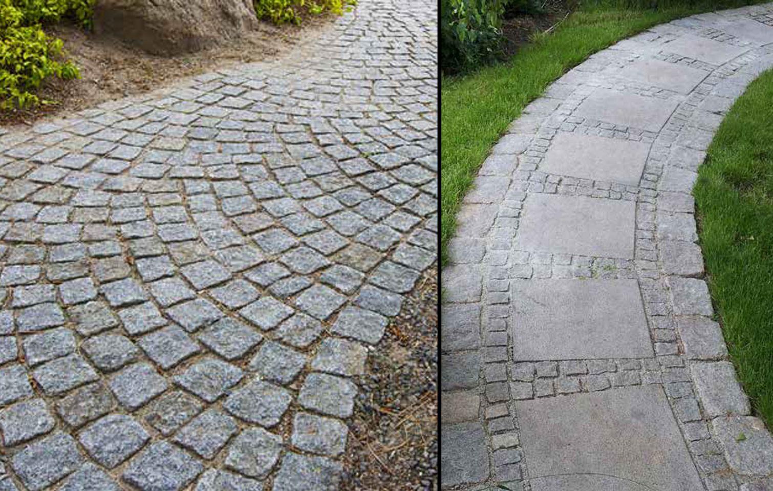 Sten og belægning til have og indkørsel