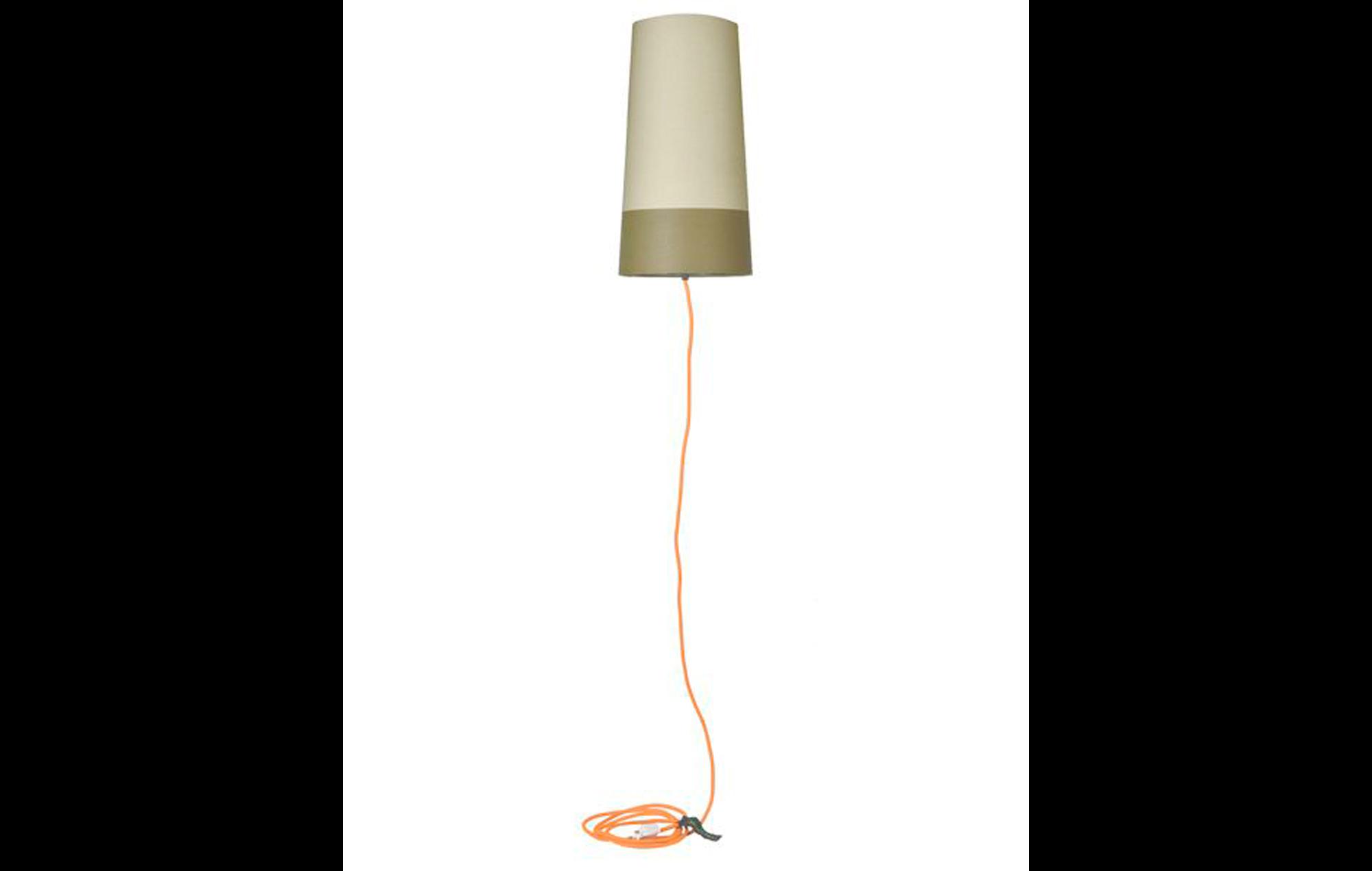 Standerlampe Gul