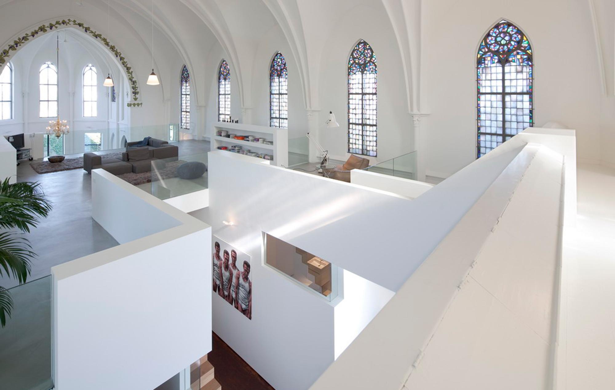 Gamle kirker bliver til nye luksusboliger