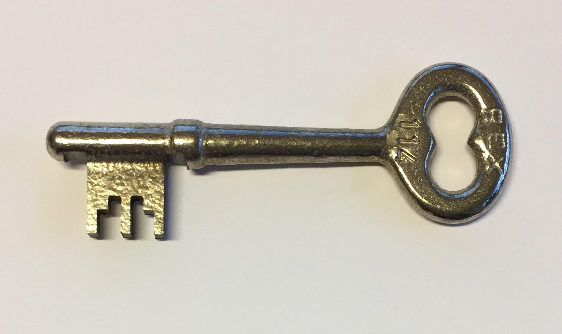 Udestående Hvordan finder jeg en nøgle til min indvendige dør? AQ83