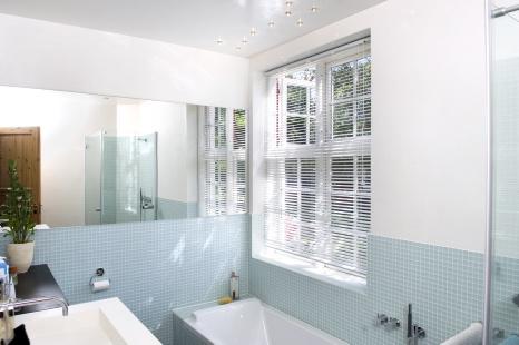 pudsede vægge i badeværelse Oldgammel teknik giver magi i badeværelset pudsede vægge i badeværelse